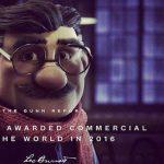 El spot y agencia más premiados del mundo,2016:'Justino' de Loterias y Leo Burnett (Madrid) (Gunn Report)