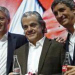 Marcos de Quinto, Toni Segarra, Luis Cuesta, Ángel Cano y Javier R. Zapatero, socios de Juan Roig