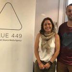 Bárbara Parareda y Alejandro Marruedo a serviciosalcliente de Blue 449 Barcelona