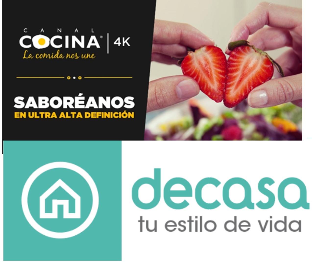 Los canales de televisi n canal cocina 4k y canal decasa for Canal cocina cocina de familia