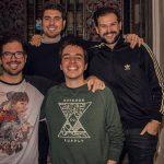Enrique Torguet, Manuel Castillo, Alex Sanchez, Guilherme Nesti y Pedro Sattin, a Lola