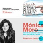 Mónica Moro, DGC de McCann España, Presidente Jurado de El Dorado