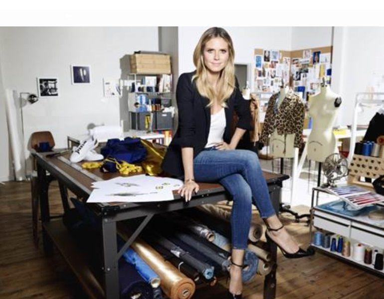 dd008e97e36f6 Lidl y Heidi Klum estrenan en Nueva York su primera colección - El ...