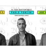 Luiz Sanches, Pablo Poncini y José Miguel Sokoloff, Presidentes Ojo Film, Ojo Sustentable y Ojo Vía Pública 2017