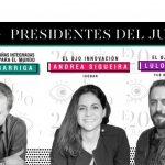 Barriga, Siqueira y Calió: Presidentes Tercer Ojo, Campañas Integradas, Mejor Idea Latina, Ojo Innovación y Ojo Sports