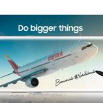 """Samsung se une a Iberia en fidelizar a clientes con campaña """"Bienvenido #Note8aBordo"""""""