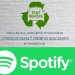 """Fiat estrena nueva segmentación """"In Car"""" en Spotify de la mano de Starcom"""