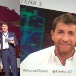 Telecinco y Antena 3 marcas españolas de televisión más valiosas del mundo