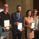 Loterias, Gonzalo Sainz (Bankinter); Díaz Guardamino (IKEA) ganadores Premios Club Jurados de Premios Eficacia.