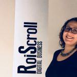 Laura Vázquez Directora de Servicios al Cliente, de la agencia de marketing online, Roi Scroll