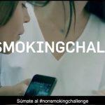 """""""#NONSMOKINGCHALLENGE. Campaña de Tactics Europe para atajar tabaquismo adolescente."""