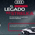 "Audi homenajea a primera heroína espacial soviética con ""El legado de Strelka""."