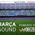 Deezer, música en streaming, anuncia acuerdo con F.C.Barcelona como proveedor oficial de música del club.