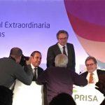 El Consejo de Administración de PRISA convoca Junta General el 25 de abril. Fernando Martínez entra en Consejo.