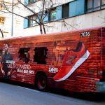Exterion Media renueva la concesión publicitaria de los autobuses de la EMT de Valencia