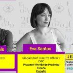 Comenzó #ElOjo2017con Roca de Viñals, Jesús Revuelta y Eva Santos.