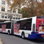 La UTE Publicesa y Publiflotas gana el concurso de publicidad exterior de autobuses urbanos de Valladolid