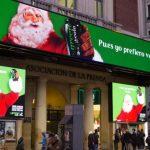 Green Cola recupera el Papá Noel Verde que elige Green Cola, en Callao