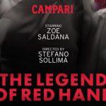 Estreno Mundial del corto del calendario Campari: 'The Legend Of Red Hand'.