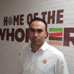 Jorge Carvalho, Director de Operaciones y Franquicias, España y Portugal, en Burger King