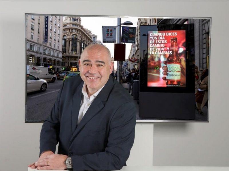 Jordi Saez, Consejero Delegado, Clear channel, espana, programapublicidad