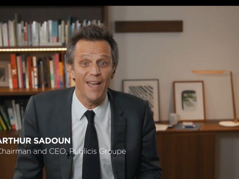 arthur sadoun, publicis, programapublicidad