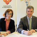La Fundación ATRESMEDIA y AMPE suman fuerzas en acciones para sensibilizar en la discapacidad