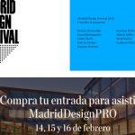 Madriddesignpro reúne en COAM a figuras clave del diseño y a Toni Segarra.