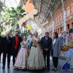 Las Fallas de Valencia aterrizan en Estación del AVE en Atocha: #enAVEalasFALLAS