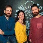 Jorge Moraleda (copy), Quique Beneyto (arte) y Sara Solbes fichajes de Publips-Serviceplan