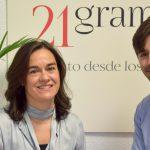 21gramos, Comunicación y Branding ficha a Carmen Buxens y Rubén González-Román.