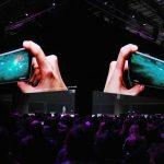 Acción Multi pantalla de Cheil para el modo Slow Motion del Samsung Galaxy S9