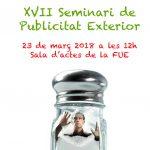 Este viernes en la UJI,  XVII Seminario de Publicidad Exterior de la Universitat Jaume I (UJI)