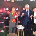 LG presenta su campaña de apoyo a la Selección Española con Vicente del Bosque