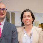 Juan Castillero Director Financiero de Region Norte y Marta Guisasola de Europa en LLORENTE & CUENCA