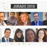 Miembros del jurado de los Premios Dircom Ramón del Corral