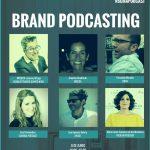 Mesa de debate sobre Brand podcasting de la BCMA, este 6 de junio.