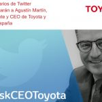 Los usuarios de Twitter entrevistarán a Agustín Martín, Presidente y CEO de Toyota España