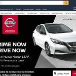 OMD y Nissan lanzan Drive Now: primer test drive del nuevo Nissan Leaf desde Amazon Prime