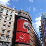 Vofafone impacta en Callao en exterior con su última campaña con Wavemaker