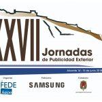 XXVII Jornadas de Publicidad Exterior Alicante, 14 y 15 de junio 2018