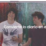 Javier Ambrossi y Javier Calvo protagonizan la última campaña digital de Samsung Galaxy S9