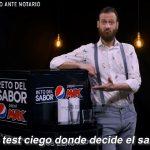 El Reto del Sabor Pepsi Max, campaña para posicionarse frente a su rival, Coca-Cola Zero.