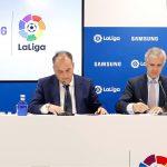 Samsung proporcionará a LaLiga tecnología durante los próximos tres años