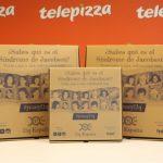 Telepizza con 11q España para concienciar sobre el síndrome de Jacobsen.