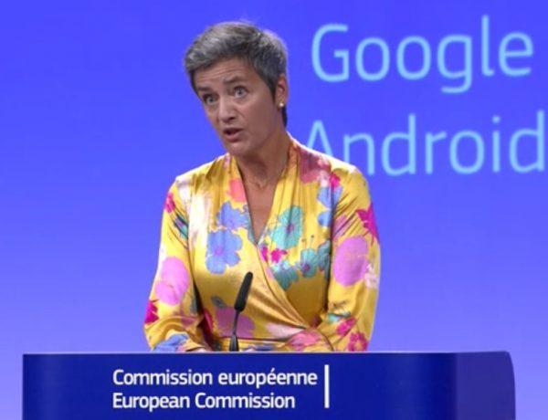 Margrethe Vestager, comisaria europea de Competencia, google, programapublicidad muy grande