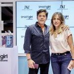Nueva colección del diseñador Jorge Vázquez para el smarpthone Samsung Galaxy S9+ inspirada en mujer SMARTgirl.