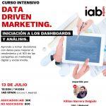 Curso Data Driven Marketing. Iniciación a los dashboards y análisis de IAB