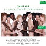 NUDICOME, la nueva campaña de Benetton por Oliviero Toscani