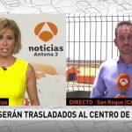 Antena 3 Noticias 1 ,  de Antena 3. emisión más vista del martes con 1,8 millones de espectadores.